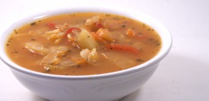 Vegetable Soup with Cabbage