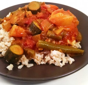 Zucchini Vegetable Curry