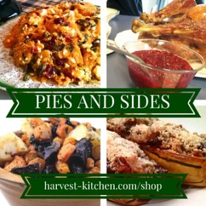 Don't forget to order your Thanksgiving Pies and Sides